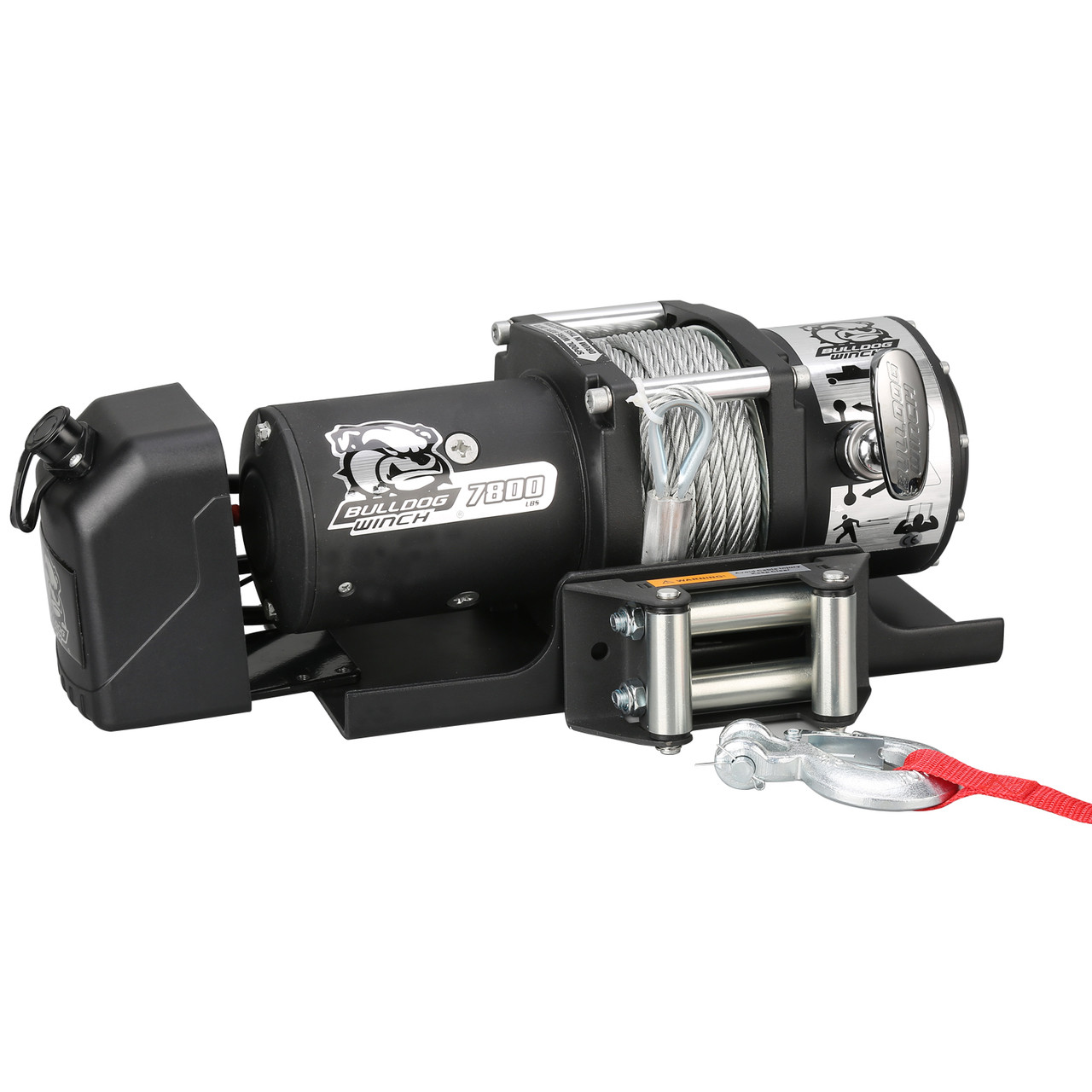 Remarkable 7800Lb Trailer Winch 47 6 Wire Rope Roller Frld Mnt Plate Low Wiring Database Obenzyuccorg