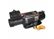 15000lb Alpha Truck Winch, Synthetic rope, hawse fairlead Bulldog Winch - 10048