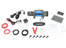 6000lb Powersports Winch, synthetic rope Bulldog Winch - 15023