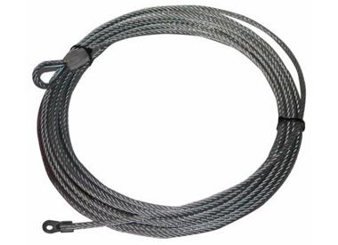 "Wire Rope, 10029 9/32""x55' (7.2mm x 16.8m) Bulldog Winch - 20213"