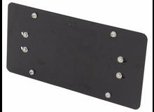 Licence Plate Bracket, Fairlead mount Bulldog Winch - 20278
