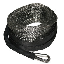Synthetic Rope - 12mm x 80' Grey Bulldog Winch - 20288