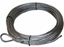 Wire Rope 11mm x 85', for 10047 Bulldog Winch - 20296
