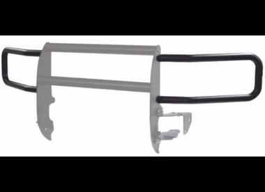 Headlight Guards, Black 2007-13 Chevy 1500 Bulldog Winch - 726735B