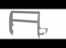 Grille Guard, Chrome 2015 F150 Bulldog Winch - 73365