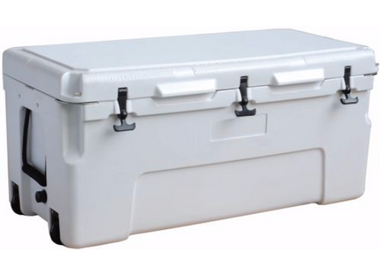 150L Sportsman Cooler - white Bulldog Winch - 80039