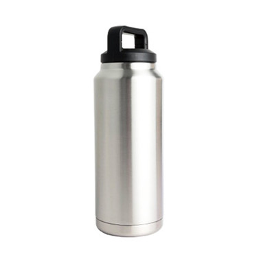 36oz 304 Stainless Drink Bottle w/Screw-on Finger Hold Lid Bulldog Winch - 80050