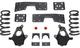 "1999-2006 Chevy & GMC 1500 2wd 3/5"" MaxTrac Drop Kit - KS330935-NS"