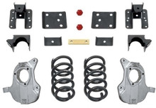 "2016.5-2018 Chevy & GMC 1500 2wd W/ AVV Stamped Steel Control Arms 3/5"" MaxTrac Drop Kit - KA331535-NS"