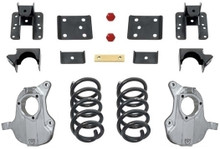 "2016.5-2018 Chevy & GMC 1500 2wd W/ AVV Stamped Steel Control Arms 4/6"" MaxTrac Drop Kit - KA331546-NS"