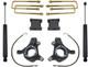 """2007-2016 Chevy & GMC 1500 2wd W/ Cast Steel Arms 3/1"""" MaxTrac Lift Kit W/ Shocks - KS881332"""