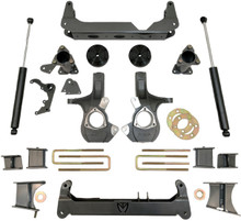 "2007-2013 Chevy & GMC 1500 2wd & 4wd 7-9"" Adjustable MaxTrac Lift Kit - K941370"
