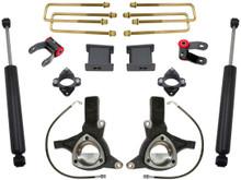 """2007-2017 Chevy & GMC 1500 2wd 7.5/4"""" MaxTrac Lift Kit W/ Shocks - K881375"""