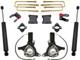 """2016-2018 Chevy & GMC 1500 2wd W/ AVV Stamped Steel Arms 7/4"""" MaxTrac Lift Kit W/ Shocks - K881575"""