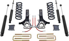 "2002-2008 Dodge RAM 1500 (4.7L V8) 2wd 7""/4"" MaxTrac Lift Kit W/ Shocks - K882170"