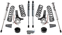 "2009-2018 Dodge RAM 1500 (4.7L V8) 2wd 7""/4.5"" MaxTrac Lift Kit W/ FOX Shocks - K882470F"
