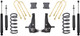 """1998-2000 Ford Ranger 2wd 6 Cyl Coil Suspension 6/3"""" MaxTrac Lift Kit W/ Shocks - K883053A-6"""