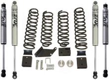 "2007-2016 Jeep Wrangler JK 2wd/4wd 3"" MaxTrac Lift Kit W/ FOX Shocks - K889730F"