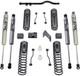 """2007-2018 Jeep Wrangler JK 2wd/4wd 4.5"""" MaxTrac Coil Lift Kit W/ Front Track Bar & FOX Shocks - K889745F"""