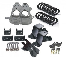 2/3 Hummer H2 w/ For Coils Economy Lowering Kit 03-06