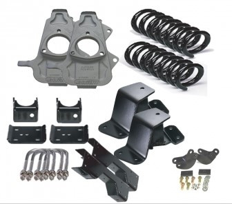 2/3 Hummer H2 w/ For Coils Economy Lowering Kit 03-06