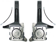"""2007-2022 Toyota Tundra 2wd 3.5"""" MaxTrac Lift Spindles W/ Extended Brake Lines - 706735"""