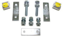 2007-2019 Toyota Tundra 2wd MaxTrac Carrier Bearing Spacers & Brake Line Brackets - 616700
