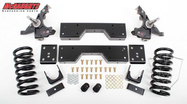 """1988-1998 Chevy & GMC 1500 2wd W/ 1.25"""" Thick Rotors 4/6"""" Deluxe Lowering Kit - McGaughys 33137"""