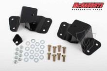 """Hangers for Front of Leaf Spring 3-4"""" Rear Drop 88-98 Chevy C15"""