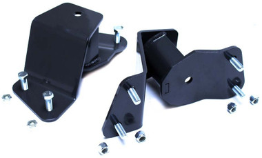 """1988-1998 Chevy & GMC C1500 2wd 2"""" MaxTrac Rear Lowering Hangers - 420520"""