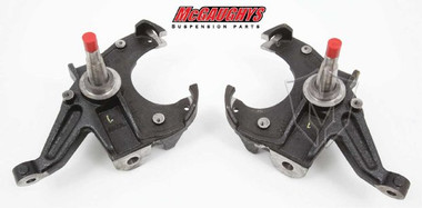 McGaughys 63176 Pair of 2 Drop Spindles for 71-72 GM C-10 Truck