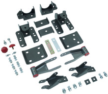 "2014-2017 Chevy & GMC 1500 2wd/4wd MaxTrac 3-4"" Adj. Rear Flip Kit & Shock Extenders - 201540"