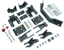 "2014-2017 Chevy & GMC 1500 2wd/4wd MaxTrac 3-4"" Adj. Rear Flip Kit W/ Shock Extenders & Carrier Bearing - 201540LB"