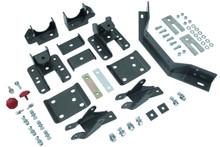 "2014-2017 Chevy & GMC 1500 2wd/4wd MaxTrac 5-6"" Adj. Rear Flip Kit W/ Shock Extenders & Carrier Bearing - 201560LB"
