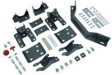 "2014-2018 Chevy & GMC 1500 2wd/4wd MaxTrac 5-6"" Adj. Rear Flip Kit W/ Shock Extenders & Carrier Bearing - 201560LB"