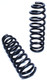 """1998-2009 Ford Ranger 2wd 4 Cyl (Non Stabilitrak) 2"""" MaxTrac Front Lowering Coils - 253020-4"""