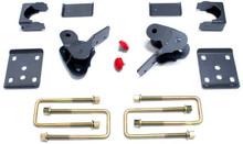 """2015-2017 Ford F-150 2wd/4wd 4"""" MaxTrac Rear Flip Kit W/ Hangers - 303240"""