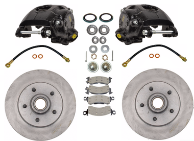 1963-1987 Chevy & GMC C10 Premium 5 Lug Pro Suspension Disc Brake Kit - 600200