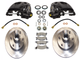 "1963-1987 Chevy & GMC C10 Premium 6 Lug 6x5.5"" Bolt Pattern Pro Suspension Disc Brake Kit - 600201"