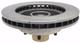 Pro Suspension 600100 5lug 1963-1987 C10 Disc Brake Rotor Back View