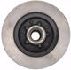 Pro Suspension 600100 5lug 1963-1987 C10 Disc Brake Rotor Bottom View