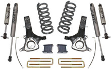 "2002-2008 Dodge RAM 1500 (5.7 V8 HEMI) 2wd 7""/4"" MaxTrac Lift Kit W/ FOX Shocks - K882171F"