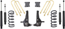 "1998-2000 Ford Ranger 4cyl 2wd Coil Suspension 6/3"" MaxTrac Lift Kit W/ Shocks - K883053A-4"