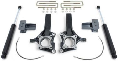 """2009-2014 Ford F-150 2wd (W/ Factory Lift Blocks) 4""""/2"""" MaxTrac Lift Kit W/ Shocks - K883144"""