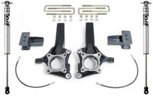 """2009-2014 Ford F-150 2wd (W/ Factory Blocks) 4""""/2"""" MaxTrac Lift Kit W/ FOX Shocks - K883144F"""
