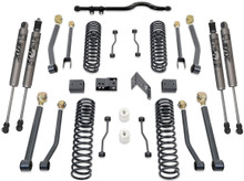 "2007-2018 Jeep Wrangler JK 2wd/4wd 4.5"" MaxTrac Coil Lift Kit W/ Front Track Bar, Adj. Arms, & FOX Shocks - K889745FA"
