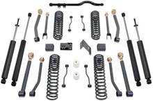 "2007-2016 Jeep Wrangler JK 2wd/4wd 4.5"" MaxTrac Coil Lift Kit W/ Front Track Bar, Adj. Arms, & Shocks - K889745SA"