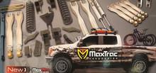 """2017-2022 Ford F250/350 S.D. 4wd 6"""" MaxTrac Radius Arm Drop Lift Kit W/ Shocks - K883362"""