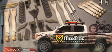 """2017-Up Ford F250/350 S.D. 4wd 6"""" MaxTrac Radius Arm Drop Lift Kit W/ FOX Shocks - K883362F"""