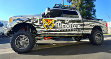 "MaxTrac K883362-4L Installed On 2017-2018 Ford F250/350 S.D. 4wd 6"" Forged Four Link Lift Kit W/ Shocks"